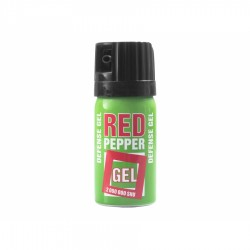Gaz pieprzowy Sharg Defence Green w żelu 40 ml