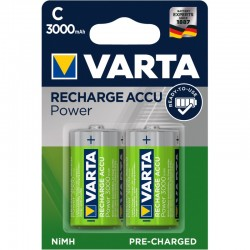 2 x VARTA Ready2Use R14/C Ni-MH 3000mAh