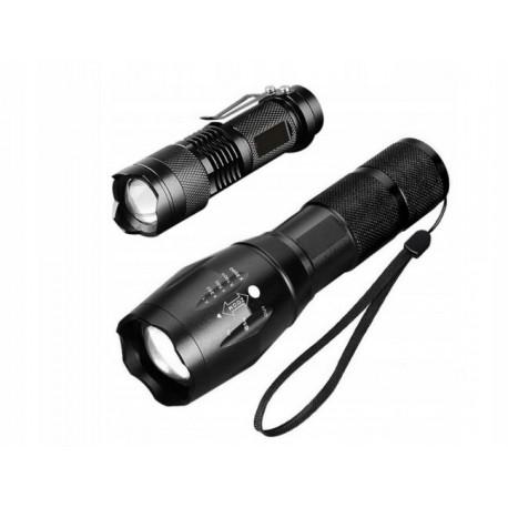 2x LATARKA LED CREE XM-L T6 Q5 ZOOM