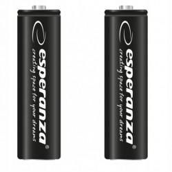 2x Akumulatorki ESPERANZA baterie R6 AA 2600mAh
