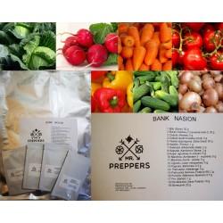Bank ziemny - zbiór nasion roślin jadalnych przeznaczonych do wysiewu