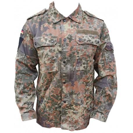 Bluza Wojskowa Tropikalna Kosowo Bundeswehr Oryginał Demobil