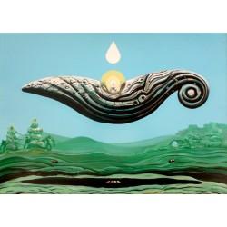Obraz KONEWKA, 2013, akryl, 50x70 cm,