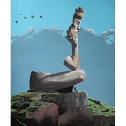 Obraz Szine, 2010, wydruk inkografia 3 z 33, 90 x 75 cm