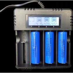Ładowarka akumulatorów AA, R14, R20, 18650, 26650, 16340