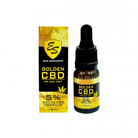 Olejek CBD - 5% - 10 ml