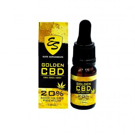 Olejek CBD - 20% - 10 ml