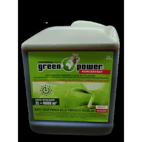 Ochrona Roślin EKO Odżywka UNIVERSAL PROFI Green Power Koncentrat  2L