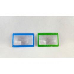 Soczewka Fresnela do portfela w rozmiarze karty kredytowej