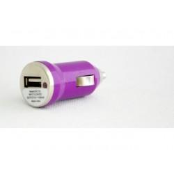 Wtyczka adapter samochodowy USB przejściówka