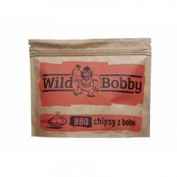 Chipsy z bobu Wild Bobby 100 g BBQ