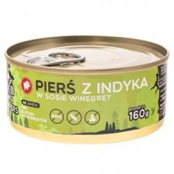Filet z Piersi Indyka w sosie winegret 160g.