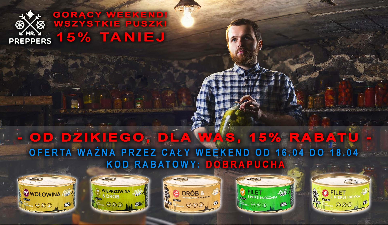 Rabat na konserwy 15%